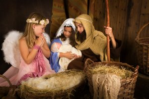 kids nativity play