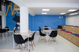 modern branded office