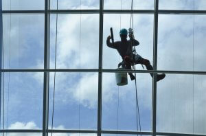 office spring clean window cleaning