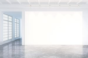 White Walls Office Space
